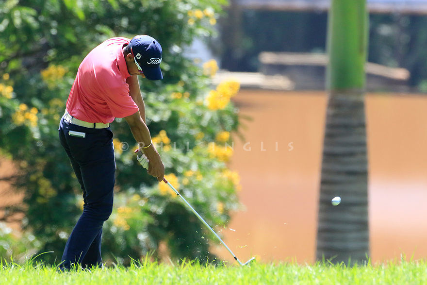 Mohit Mediratta (KEN) during the third round of the Barclays Kenya Open played at Muthaiga Golf Club, Nairobi, Kenya 22nd - 25th March 2018 (Picture Credit / Phil Inglis) 22/03/2018<br /> <br /> <br /> All photo usage must carry mandatory copyright credit (&copy; Golffile | Phil Inglis)