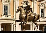 Marcus Aurelius Equestrian Statue Piazza Campidoglio Capitoline Hill Rome