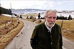 Mario Rigoni Stern in Frioul region,Italy.