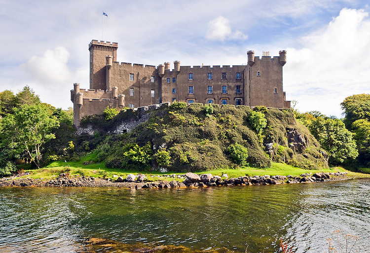 Dunvegan Castle, Isle of Skye, the traditional home of the McLeod clan