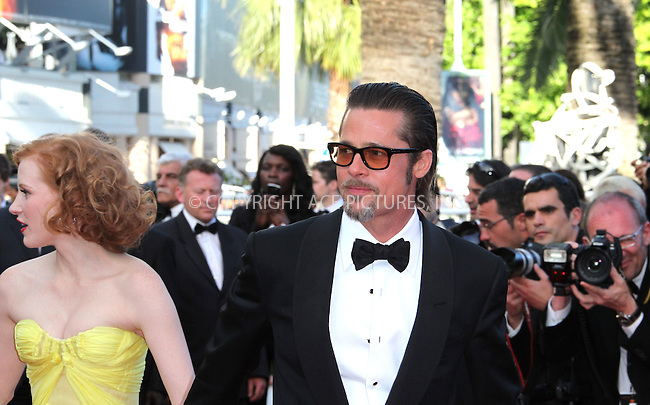 "WWW.ACEPIXS.COM . . . . .  ..... . . . . US SALES ONLY . . . . .....May 16 2011, Cannes....Brad Pitt at the premiere of ""The Tree Of Life"" at the Cannes Film Festival on May 16 2011 in Cannes, France....Please byline: FAMOUS-ACE PICTURES... . . . .  ....Ace Pictures, Inc:  ..Tel: (212) 243-8787..e-mail: info@acepixs.com..web: http://www.acepixs.com"