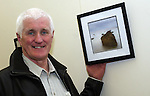 Eric O'Neill at the Launch of his exhibition...Photo NEWSFILE/Jenny Matthews.(Photo credit should read Jenny Matthews/NEWSFILE)....This Picture has been sent you under the condtions enclosed by:.Newsfile Ltd..The Studio,.Millmount Abbey,.Drogheda,.Co Meath..Ireland..Tel: +353(0)41-9871240.Fax: +353(0)41-9871260.GSM: +353(0)86-2500958.email: pictures@newsfile.ie.www.newsfile.ie.FTP: 193.120.102.198.
