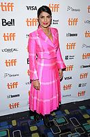 07 September 2017 - Toronto, Ontario Canada - Priyanka Chopra. 2017 Toronto International Film Festival - 'Pahuna: The Little Visitors' Premiere held at Scotiabank Theatre. <br /> CAP/ADM/BPC<br /> &copy;BPC/ADM/Capital Pictures