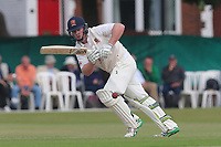 Simon Harmer in batting action for Essex during Surrey CCC vs Essex CCC, Specsavers County Championship Division 1 Cricket at Guildford CC, The Sports Ground on 10th June 2017