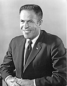 "Portrait of H. R. ""Bob"" Haldeman taken in Washington, D.C. on May 8, 1971.  He served as Chief of Staff for United States President Richard M. Nixon until his forced resignation on April 30, 1973 for his involvement in the Watergate Affair.  Haldeman served 18 months in prison for his role in Watergate.  He was born Harry Robbins Haldeman on October 27, 1926 in Los Angeles, California.  He died of cancer at his home in Santa Barbara, California on November 12, 1993..Credit: Ron Sachs / CNP"