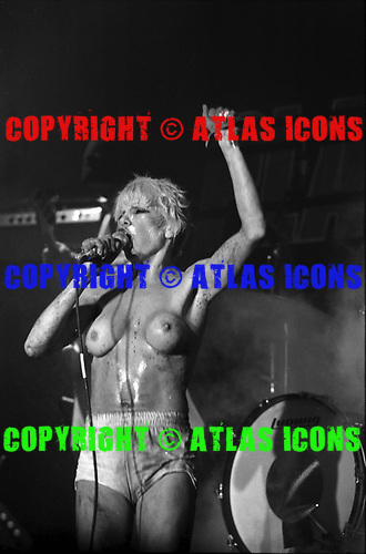 PLASMATICS, LIVE, 1980, NEIL ZLOZOWER