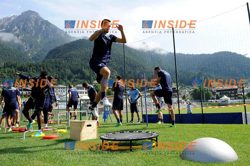 Stefan De Vrij<br /> 22-07-2016 Auronzo di Cadore ( Belluno )<br /> Ritiro estivo S.S. Lazio ad Auronzo di Cadore in preparazione per la stagione 2016-2017<br /> SS Lazio pre season training camp <br /> @ Marco Rosi / Fotonotizia / Insidefoto