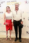Spanish actor Maximo Valderde with his girlfriend the Spanish actress Eva Santamaria during the photocall of the concert of the spanish singer Jose Manuel Soto. July 2, 2017. (ALTERPHOTOS/Acero)
