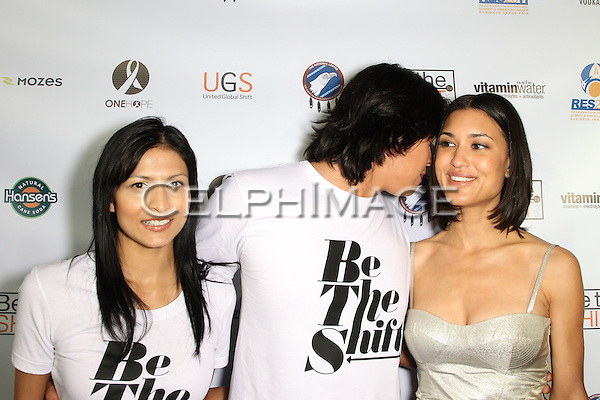 TINSEL KOREY, CHASKE SPENCER, JULIA JONES. Red Carpet arrivals to the launch event of Be The Shift at Industry Night Club. West Hollywood, CA, USA. 6/14/2010..