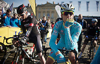 Lars Boom (NLD/Astana) at the start<br /> <br /> 113th Paris-Roubaix 2015