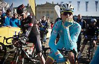 Lars Boom (NLD/Astana) at the start<br /> <br /> 113th Paris-Roubaix 2015