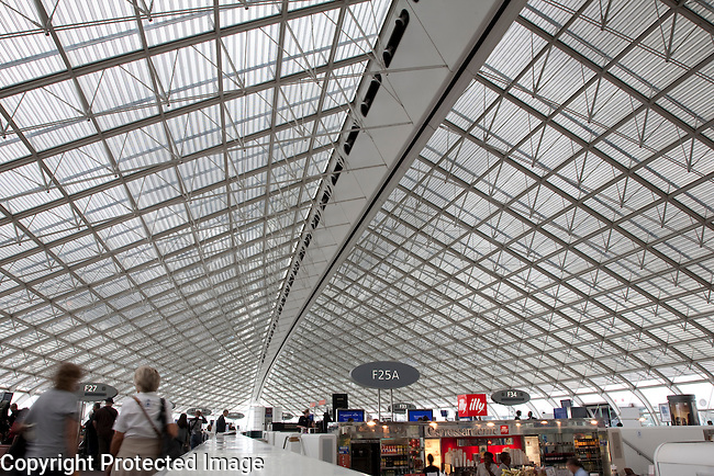 Charles de Gaulle International Airport, Paris, France, Europe