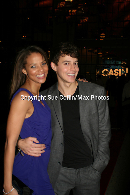 AMC's Denise Vasi and Daniel Kennedy at the ABC Daytime Casino Night on October 23, 2008 at Guastavinos, New York CIty, New York. (Photo by Sue Coflin/Max Photos)