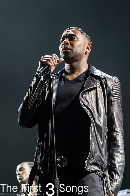 Ginuwine of TGT performs at the 2013 Essence Festival at the Mercedes-Benz Superdome in New Orleans, Louisiana.