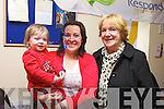 CELEBRATION: Respond! Housing Association celebrated their Jubilee 30 Anniversary in Baile O'Dubhda, Listowel on Thursday: Brianne Batten with mom Emma Batten and Liz Reidy.
