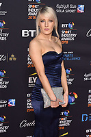 Elise Christie arriving for the BT Sport Industry Awards 2018 at the Battersea Evolution, London, UK. <br /> 26 April  2018<br /> Picture: Steve Vas/Featureflash/SilverHub 0208 004 5359 sales@silverhubmedia.com