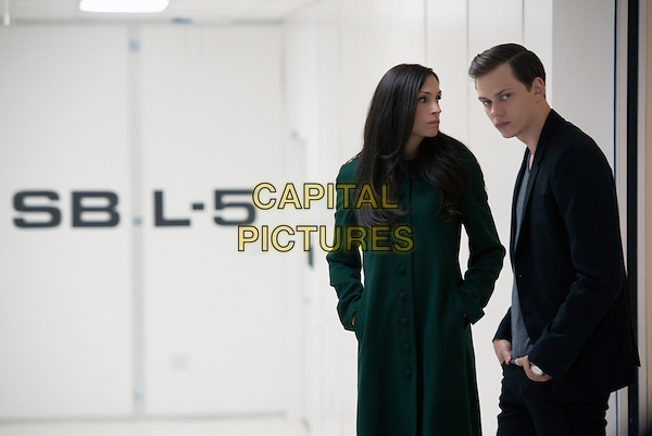 Famke Janssen and Bill Skarsgard  <br /> in Hemlock Grove (2013&ndash; )<br /> (Season 2)  <br /> *Filmstill - Editorial Use Only*<br /> CAP/NFS<br /> Image supplied by Netflix/Capital Pictures