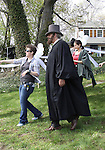 "Actor Christopher Lloyd on set - Shooting on May 1, 2011 - ""Excuse Me For Living"" - A Romantic Comedy - an Independent Film written, directed and produced by Ric Klass. (Photos by Sue Coflin/Max Photos)"