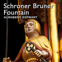 Schöner Brunnen Gothic Fountain, Nuremberg, Photos, Pictures and Images