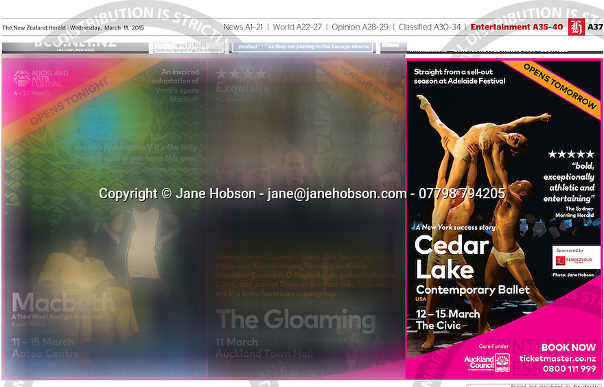 Cedar Lake Contemporary Ballet- The New Zealand Herald - 11 Mar 2015 - Page #37