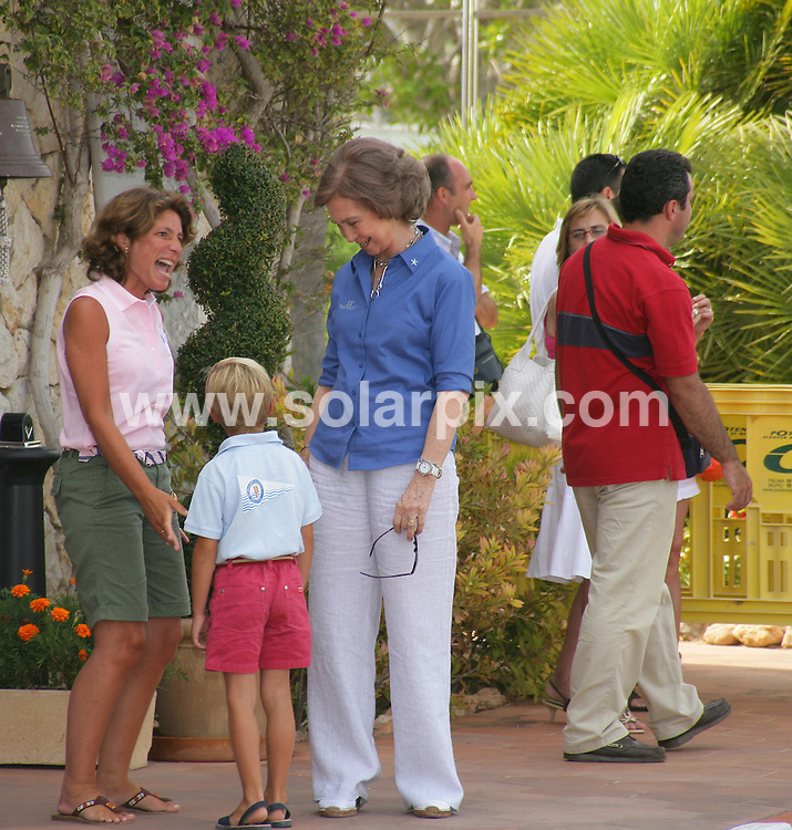 **ALL ROUND PICTURES FROM SOLARPIX.COM**.**WORLDWIDE SYNDICATION RIGHTS**.Queen Sofia of Spain at the 13th Breitling Regata, Puerto Portals, Mallorca, Balearic Islands, Spain 22nd july 2007..This pic: Queen Sofia..JOB REF:   4355 WUN        DATE: 23_07_2007.**MUST CREDIT SOLARPIX.COM OR DOUBLE FEE WILL BE CHARGED* *UNDER NO CIRCUMSTANCES IS THIS IMAGE TO BE REPRODUCED FOR ANY ONLINE EDITION WITHOUT PRIOR PERMISSION*