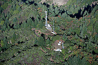 aerial photograph celluar telephone towers Sonoma County, California
