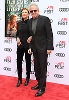 HOLLYWOOD, CA - NOVEMBER 12: Annette Bening and Warren Beatty at the Film Stars Won't Die In Liverpool Special Screening at the TCL Chinese Theatre in Hollywood, California on November 12, 2017. Credit: Faye Sadou/MediaPunch /NortePhoto.com