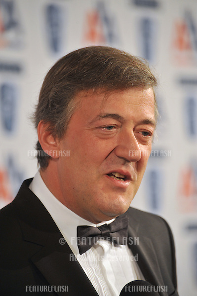 Stephen Fry at the 18th Annual BAFTA/LA Britannia Awards at the Hyatt Century Plaza Hotel, Century City..November 5, 2009  Los Angeles, CA.Picture: Paul Smith / Featureflash