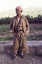 Iran 1980.Masoud Barzani in Rajan.Irak 1980.Masoud Barzani a Rajan