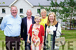 Andrew Joy, Mick McKenna, Deirdre Donohoe, Patsy Foley and Breda Joy at the official opening of Killarney House on Monday