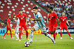 Carlos Correa of Argentina (C) in action during the International Test match between Argentina and Singapore at National Stadium on June 13, 2017 in Singapore. Photo by Marcio Rodrigo Machado / Power Sport Images