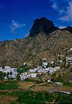 Area of Vallehermosa.La Gomera, Canary Islands,Spain