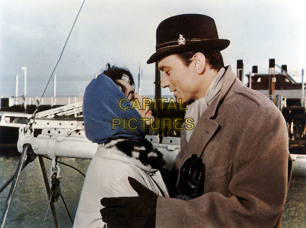 ELIZABETH TAYLOR & LAURENCE HARVEY.in BUtterfield 8 (1960) .*Filmstill - Editorial Use Only*.CAP/STF/PEL.Supplied by Capital Pictures.