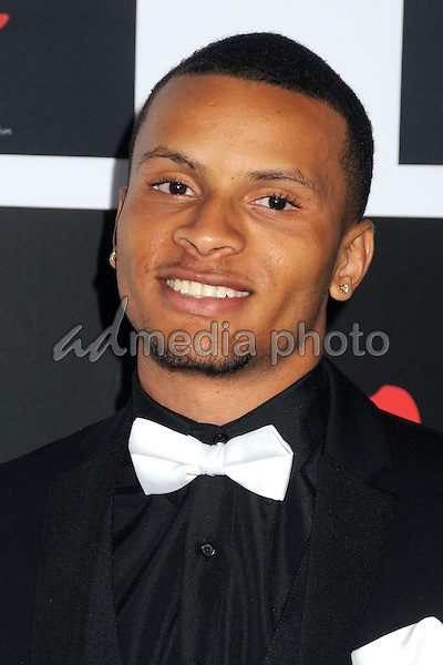 10 December 2015 - Santa Monica, California - Andre De Grasse. 2nd Annual Diamond Ball held at Barker Hangar. Photo Credit: Byron Purvis/AdMedia