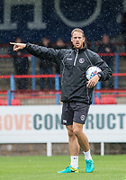 Wycombe Wanderers Head of Fitness and Conditioning David Wates during the pre season friendly match between Aldershot Town and Wycombe Wanderers at the EBB Stadium, Aldershot, England on 22 July 2017. Photo by Andy Rowland.
