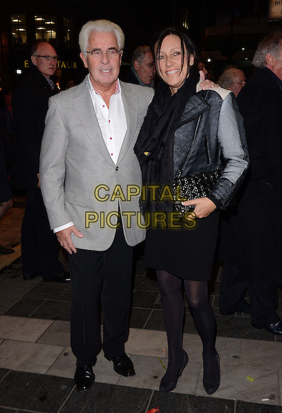 LONDON, ENGLAND - NOVEMBER 15: Max Clifford &amp; Jo Westwood  attends the &quot;Eat Pray Laugh!&quot; press night performance, London Palladium, Argyll St., on Friday November 15, 2013 in London, England, UK.<br /> CAP/CAN<br /> &copy;Can Nguyen/Capital Pictures