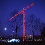 Luci d'artista a Torino. L'opera di Richi Ferrero. Dicembre 2005...Artist's lights in Turin. The work by Richi Ferrero. December 2005...Ph. Marco Saroldi. Pho-to.it