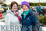 Breda O'Shea and Marian O'Leary, Beaufort at the Ballyheigue Pattern day mass on Friday.