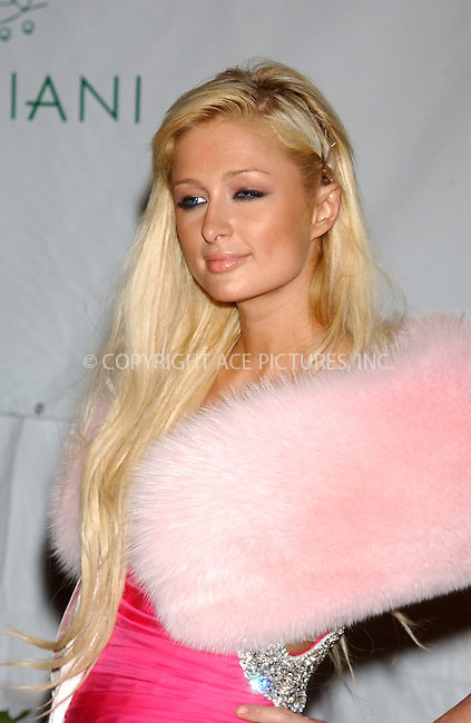 WWW.ACEPIXS.COM . . . . . ..NEW YORK, NOVEMBER 4, 2004: Paris Hilton arriving at Sean 'P. Diddy' Combs Birthday Bash at Cipriani Wall Street. Please byline: ACE006 - ACE PICTURES.. . . . . . ..Ace Pictures, Inc:  ..Alecsey Boldeskul (646) 267-6913 ..Philip Vaughan (646) 769-0430..e-mail: info@acepixs.com..web: http://www.acepixs.com