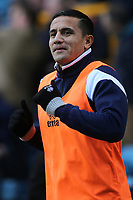 Tim Cahill of Millwall was named as substitute and warms up in the first half during Millwall vs Brentford, Sky Bet EFL Championship Football at The Den on 10th March 2018