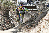 8th September 2017, Smithfield Forest, Cairns, Australia; UCI Mountain Bike World Championships; Mick Hannah (AUS) riding for Polygon UR during downhill practice;