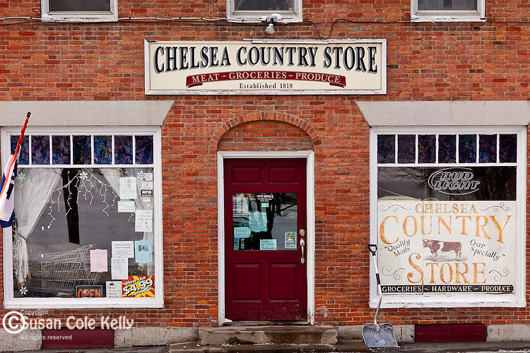 The Chelsea Country Store in Chelsea, VT, USA