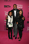 "BET's Lewis Carr and Family Attend ""BLACK GIRLS ROCK!"" Honoring legendary singer Patti Labelle (Living Legend Award), hip-hop pioneer Queen Latifah (Rock Star Award), esteemed writer and producer Mara Brock Akil (Shot Caller Award), tennis icon and entrepreneur Venus Williams (Star Power Award celebrated by Chevy), community organizer Ameena Matthews (Community Activist Award), ground-breaking ballet dancer Misty Copeland (Young, Gifted & Black Award), and children's rights activist Marian Wright Edelman (Social Humanitarian Award) Hosted By Tracee Ellis Ross and Regina King Held at NJ PAC, NJ"
