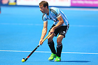 Facundo Callioni of Argentina during the Hockey World League Quarter-Final match between Argentina and Pakistan at the Olympic Park, London, England on 22 June 2017. Photo by Steve McCarthy.
