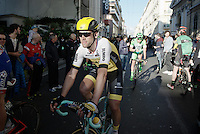 Maarten Tjallingii (NLD/LottoNL-Jumbo) post-finish<br /> <br /> 107th Milano-Sanremo 2016