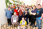 St John of God's clients taking part in Movember Raising Funds and Awareness for Men's Health