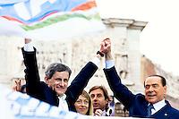 Berlusconi per  Alemanno Sindaco