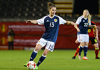 20170411 - LEUVEN ,  BELGIUM : Scottish Jane Ross pictured during the friendly female soccer game between the Belgian Red Flames and Scotland , a friendly game in the preparation for the European Championship in The Netherlands 2017  , Tuesday 11 th April 2017 at Stadion Den Dreef  in Leuven , Belgium. PHOTO SPORTPIX.BE | DAVID CATRY
