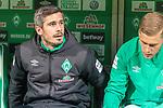 08.03.2019, Weser Stadion, Bremen, GER, 1.FBL, Werder Bremen vs FC Schalke 04, <br /> <br /> DFL REGULATIONS PROHIBIT ANY USE OF PHOTOGRAPHS AS IMAGE SEQUENCES AND/OR QUASI-VIDEO.<br /> <br />  im Bild<br />  auf der Ersatzbank Fin Bartels (Werder Bremen #22)<br /> <br /> <br /> Foto &copy; nordphoto / Kokenge