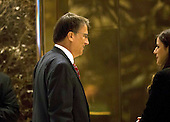Governor Pat McCrory (Republican of North Carolina) arrives at Trump Tower in Manhattan, New York, USA on Wednesday, December 7, 2016. <br /> Credit: John Taggart / Pool via CNP